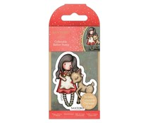 Gorjuss Collectable Mini Rubber Stamp No.79 Oh Deer (GOR 907344)