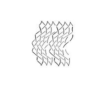 IndigoBlu Stylised Net 6x6 Inch Stencil (IND0565)