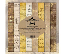 Dixi Craft Paper Favourites Music Papers 6x6 Inch Paper Pack (PF104)
