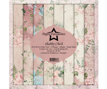 Dixi Craft Paper Favourites Shabby Chich 12x12 Inch Paper Pack (PF301)