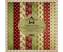Dixi Craft Paper Favourites Vintage Christmas 12x12 Inch Paper Pack (PF302)