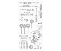 My Favorite Things Sunflower Sweetheart Clear Stamps (BB-83)