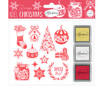 Aladine Foam Stamps Classic Christmas (03789)