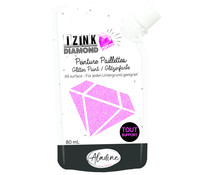 Aladine Izink Diamond Glitter Paint 24 Carats Pink 80ml (80317)