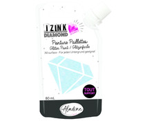 Aladine Izink Diamond Glitter Paint 24 Carats Light Blue 80ml (80318)