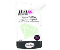 Aladine Izink Diamond Glitter Paint 24 Carats Pastel Green 80ml (80320)