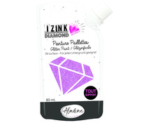 Aladine Izink Diamond Glitter Paint 24 Carats Peach 80ml (80330)