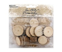 Idea-ology Tim Holtz Wood Slices (20pcs) (TH93745)