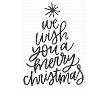 My Favorite Things We Wish You a Merry Christmas Clear Stamps (CS-420)