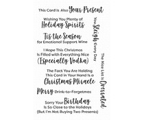 My Favorite Things Sassy Pants Holidays Too Clear Stamps (CS-422)