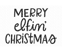 My Favorite Things Merry Elfin' Christmas Clear Stamps (MFT-426)