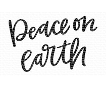 My Favorite Things Peace on Earth Clear Stamps (CS-427)