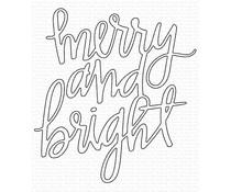 My Favorite Things Merry and Bright Die-namics (MFT-1607)