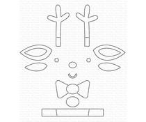 My Favorite Things Christmas Crew Reindeer Die-namics (MFT-1629)