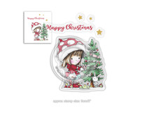 Polkadoodles Winnie Christmas Tree Clear Stamps (PD7961)