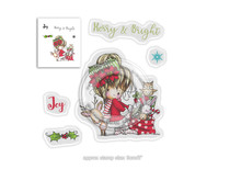 Polkadoodles Winnie Merry & Bright Clear Stamps (PD7965)