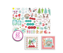 Polkadoodles Jumbles Christmas Cheer Ephemera Pack (PD7971)