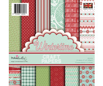Polkadoodles Wintertime 6x6 Inch Paper Pack (PD7976)