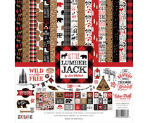Echo Park Little Lumberjack 12x12 Inch Collection Kit (LL195016)