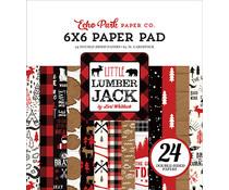 Echo Park Little Lumberjack 6x6 Inch Paper Pad (LL195023)