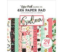 Echo Park Salon 6x6 Inch Paper Pad (SAL196023)