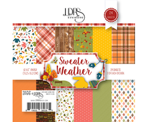 LDRS Creative Sweater Weather 6x6 Inch Paper Pack (LDRS3166)