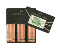 Faber Castell Pastel Pencil Pitt Metal Wallet With 60 Pieces (FC-112160)