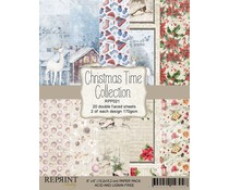 Reprint Christmas Time 6x6 Inch Paper Pack (RPP021)