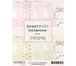 Reprint Sweet Baby Pink 6x6 Inch Paper Pack (RPP023)