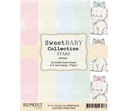 Reprint Sweet Baby Stars 6x6 Inch Paper Pack (RPP025)