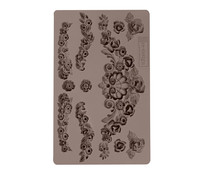 Re-Design with Prima Tillurie Flourishes 5x8 Inch Mould (636364)