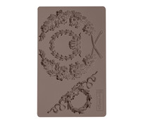 Re-Design with Prima Laurel Wreath 5x8 Inch Mould (636388)