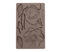 Re-Design with Prima Winter Blooms 5x8 Inch Mould (643119)