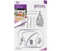 Gemini O'Christmas Tree Photo Frame Stamp & Dies (GEM-STD-OTREE)