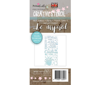 Polkadoodles Winter Wishes Christmas Stencil (PD7974)