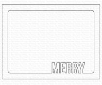 My Favorite Things Merry Frame Die-namics (MFT-1632)