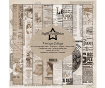 Dixi Craft Vintage Collage 12x12 Inch Paper Pack (PF305)