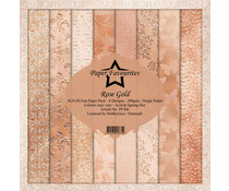 Dixi Craft Rose Gold 12x12 Inch Paper Pack (PF306)