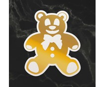 Couture Creations Teddy Silhouette Mini Cut, Foil and Emboss Die (CO726745)