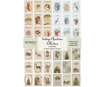 Reprint Vintage Christmas Collection A4 Paper Pack (RKP001)