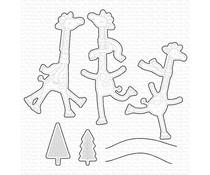 My Favorite Things Giraffes on Ice Die-namics (MFT-1647)