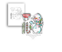 Polkadoodles Smiley Snowman Clear Stamps (PD7993)