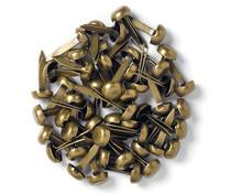 Doodlebug Design Antique Brass Mini Brads (25pcs) (100)