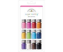 Doodlebug Design Sugar Coating Glitter Assortment (12pcs) (1476)