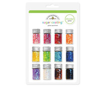 Doodlebug Design Chunky Sugar Coating Glitter Assortment (12pcs) (2049)