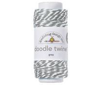 Doodlebug Design Gray Doodle Twine (3210)