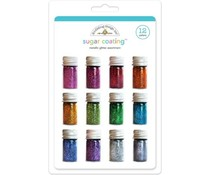 Doodlebug Design Sugar Coating Metallic Glitter Assortment (12pcs) (3353)