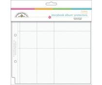 Doodlebug Design Protector Assortment 8x8 Inch (12pcs) (3501)