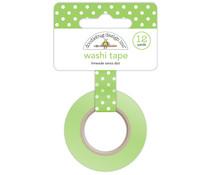 Doodlebug Design Limeade Swiss Dot Washi Tape (3653)