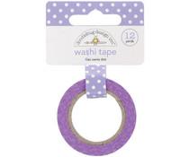 Doodlebug Design Lilac Swiss Dot Washi Tape (3656)